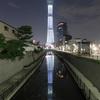 東京スカイツリーで「白色のライティング」が点灯