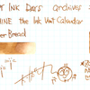 #0928 DIAMINE the Ink Vent Calender Ginger Bread
