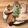 612. 金華豚チャーシュー麺+ラム肉のボスカイオーラ@Nii(大塚):ここ数年でNo.1肉質の絶品チャーシューに、ラムとキノコのマリアージュ!