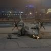AY118 TLL→HEL Economy  タリン早朝発プロペラ機で