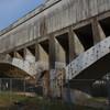 吉野町の関西電力水路橋