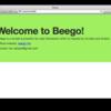 Go言語のWebアプリケーションフレームワーク「Beego」でゲストブックアプリケーションを作ってみた