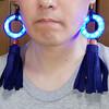 NeoPixel Ringでイヤリング