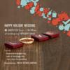 さぁ12月の始まりです☆ハッピーブライダルフェアのご案内 (高松 人気 結婚指輪 婚約指輪)