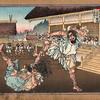 垂仁天皇七年七月 野見宿禰(ノミノスクネ)と當麻蹶速(タギマノケハヤ)に捔力(すまいとらしむ)