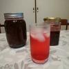 今年の赤紫蘇ジュース
