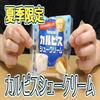 夏季限定カルピスシュークリーム(ヤマザキ)、暑くなってきたら、さわやかなスイーツ