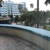 ハリウッドホテルの中庭