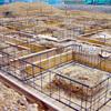 工事18日目:基礎鉄筋設置