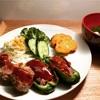 ピーマンの肉詰め と 保育参加