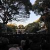 新年のジャワ舞踊練習と明治神宮初詣