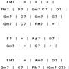Bye Bye Blackbird ~コードとスケール分析~