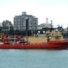 特殊部隊支援船、沖縄に寄港=対北朝鮮で海軍SEALS待機か