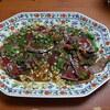 幸運な病のレシピ( 349 ) 夜:鰹タタキ、鯛ソテー(落合風)、なめこ煮、汁