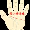 感情線が長く人差し指をこえてのびると激情家!注意しておきたいこと