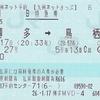 みどり27号 九州ネットきっぷ