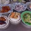 幸運な病のレシピ( 1923 )朝:青梗菜炒め、鮭、手羽醤油漬焼き、味噌汁、マユのご飯