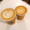 NEWoManのBlue Bottle Coffeeでカプチーノを。