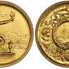 スイス1895年シューティングゴールドメダルPCGS SP67