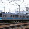 松本車両センターE127系100番台A7編成入場