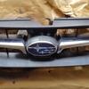 車 外装修理#1 スバル/レガシィ フロントグリルパーツ塗装剥がれ