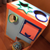 段ボールで工作・おもちゃ【ボール入れBOX】