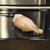 豊洲の「寿司大」でお好み19(いさき、きす、やりいか煮、いわし、白海老、あわび)。