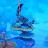 ニンテンドーラボ カニ釣りと泳がせ釣り【フグ→ナポレオンフィッシュ→サメの恐怖の食物連鎖】