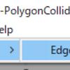 【Unity】EdgeCollider2D を PolygonCollider2D に変換できる「Unity-EdgeCollider2D-PolygonCollider2D-」紹介