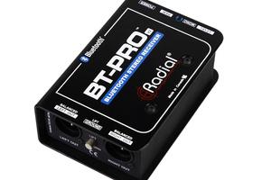 BluetoothオーディオをPAにバランス出力するRADIAL BT-Pro V2