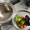 夏野菜の重ね煮→カレーライス