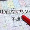 2019函館スプリントS予想