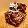 【簡単レシピ】クリスマスケーキ『ブッシュドノエル』