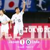 東京オリンピック サッカー女子、日本代表が決勝トーナメント進出!