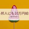 【在外邦人】10万円の特別定額給付はあるか?