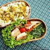 #648 カジキのチーズ焼き弁当(家弁)