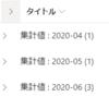 【Office365参考書】SharePointのリストにて、月ごとにグループ化するには?