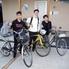 初めての自転車旅♪