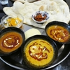ナンとライスが食べ放題、カレーは3種類の満腹ランチ@鹿児島市荒田