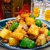 【レシピ】厚揚げとピーマンの肉味噌炒め♬