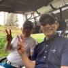 昨日は、地元のお友達とゴルフ!