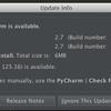 Pycharm 2.7 Betaがリリースされました