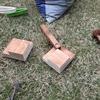 木製ストッカーの取っ手修理完了です。