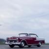 '55 CHEVY BEL AIRに乗って、海が見えるお気に入りポイントへ。