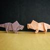 おりがみ:プロトケラトプス (Origami : Protoceratops)