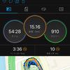 ペース走15km