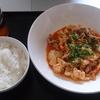 節約メニュー《豚丼・豆腐の豚キムチ炒め》