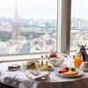 【パークハイアット東京】クラブオンザパークでプールとスパとルームサービスで夜食と朝食。