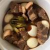 cook4meで作りました①『豚の角煮』
