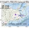2017年07月27日 15時26分 釧路地方中南部でM2.5の地震